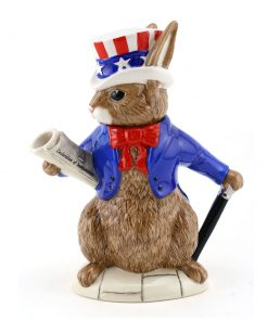 Uncle Sam Teapot D6996 - Royal Doulton Bunnykins