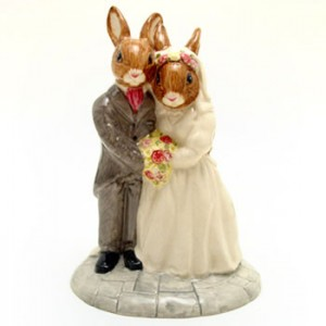 Wedding Day DB287 - Royal Doulton Bunnykins