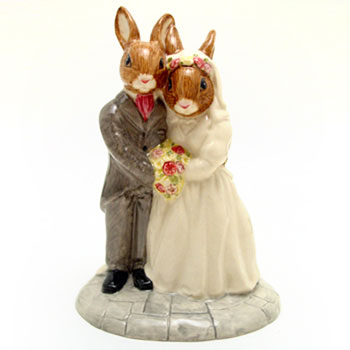 Wedding Day DB287 - Royal Doulton Bunnykins