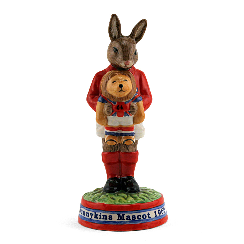 Willie 1966 Mascot DB408 - Royal Doulton Bunnykins