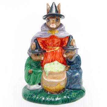 Witches Cauldron DB293 - Royal Doulton Bunnykins