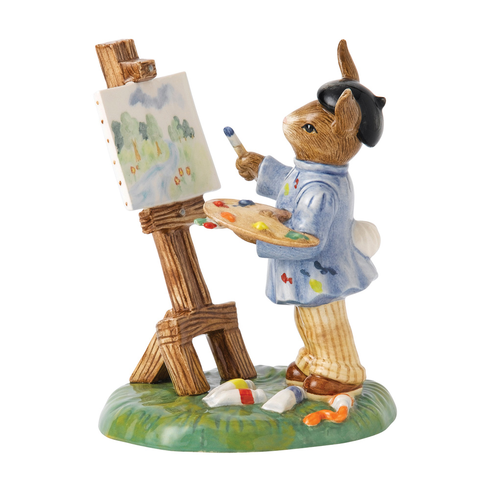 Budding Artist DB501 - Royal Doulton Bunnykins