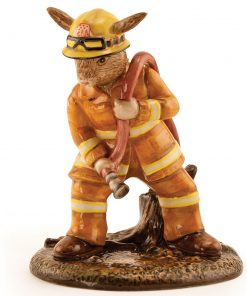 Bush Fire Fighter Bunnykins DB489 - Royal Doulton Bunnykins