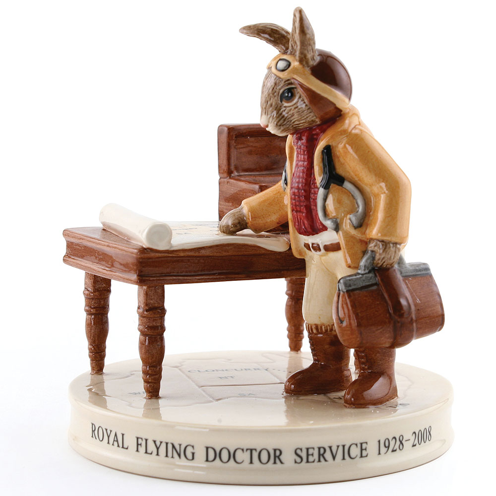 Flying Doctor Bunnykins DB468 - Royal Doulton Bunnykins
