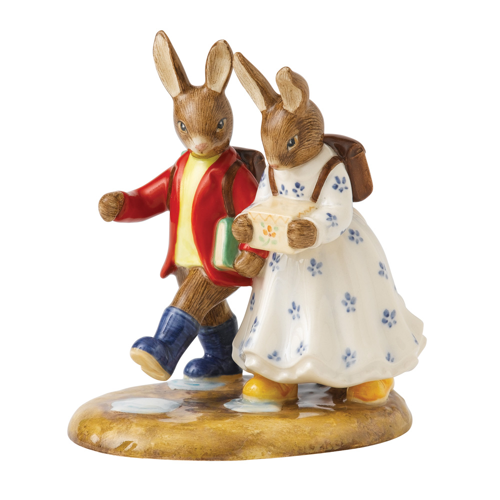Off To School 2013 - Bunnykin of the Year - Royal Doulton Bunnykins