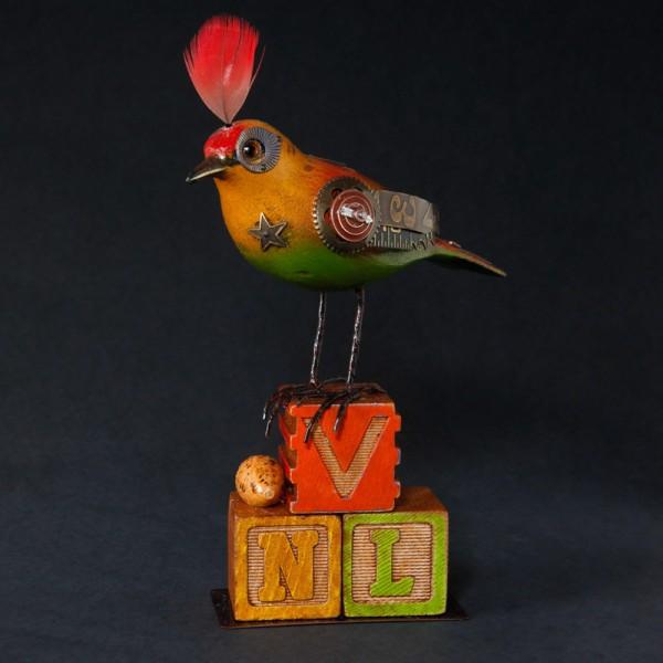 Bird on Multiple Blocks BD64