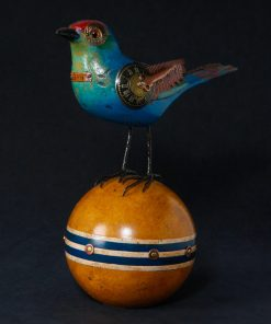 Blue Red Bird Croquet Ball