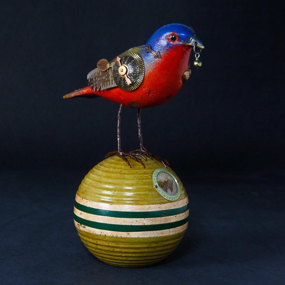 Bunting Bird Croquet Ball