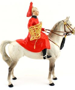 Lifeguard on Horse 1624 - Beswick Animals