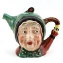 Sairey Gamp Teapot - Teapot - Beswick