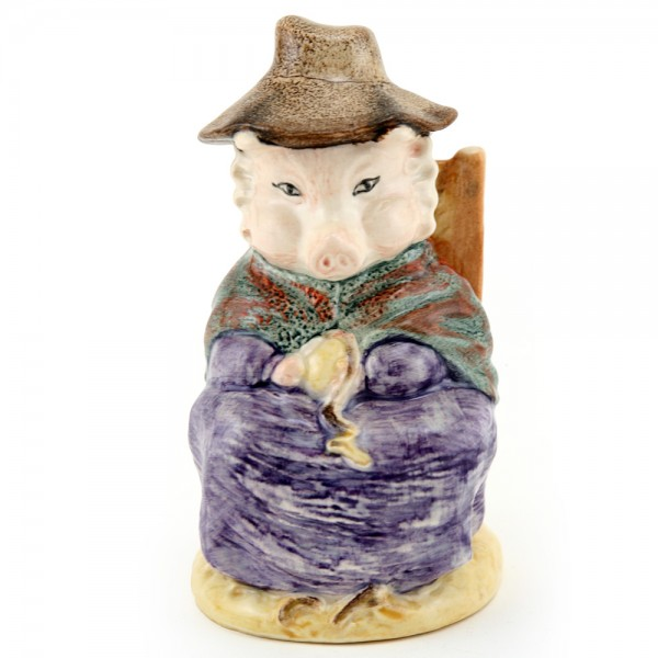 And This Pig Had None - New Beswick - Beatrix Potter Figurine