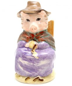 And This Pig Had None - Royal Albert - Beatrix Potter Figurine