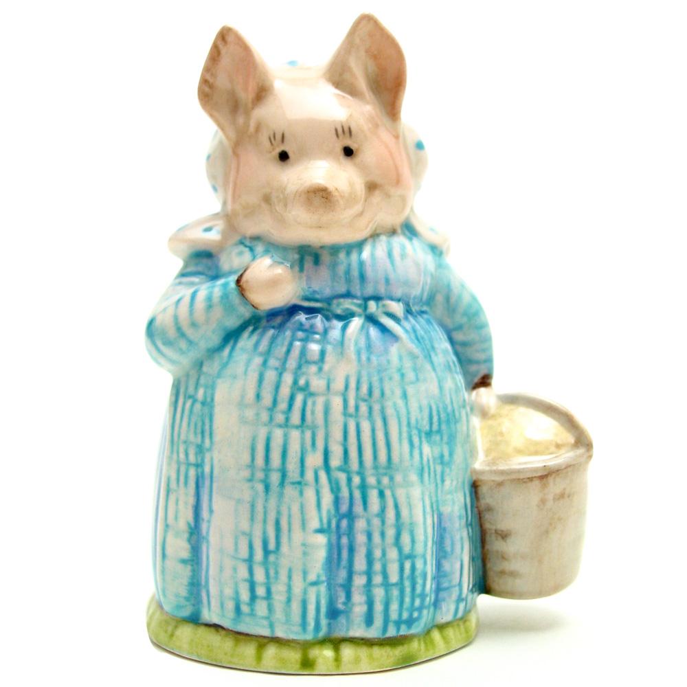 Aunt Pettitoes - Beswick - Beatrix Potter Figurine