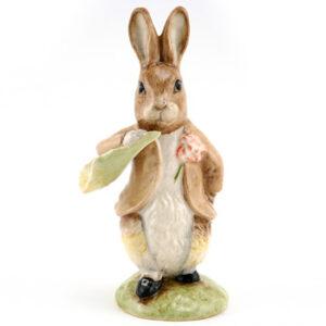 Ben Bunny Ate a Lettuce Leaf - New Beswick - Beatrix Potter Figurine