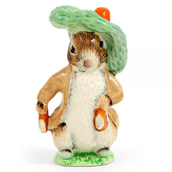 Benjamin Bunny (Ears In/Shoes In) - Beswick - Beatrix Potter Figurine