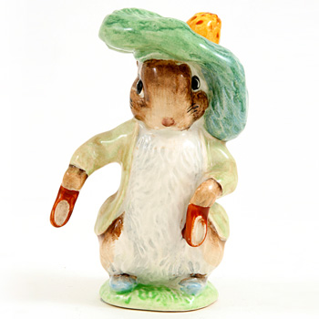 Benjamin Bunny (Ears Out/Shoes Out) - Beswick - Beatrix Potter Figurine