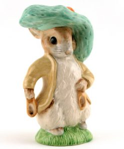 Benjamin Bunny Large Size - Royal Albert - Beatrix Potter Figurine