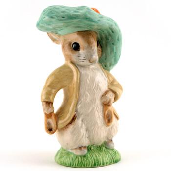 Benjamin Bunny Large Size - Royal Albert - Beatrix Potter Figurine