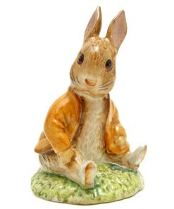 Benjamin Bunny Sat on a Bank - Beswick - Beatrix Potter Figurine