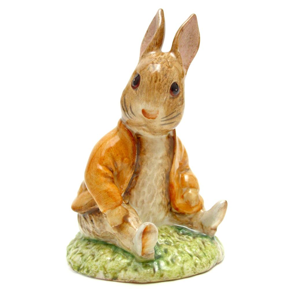 Benjamin Bunny Sat on a Bank - Beswick - Beatrix Potter Figurine