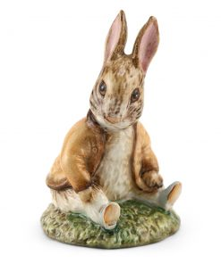 Ben Bunny Sat on a Bank (Head Down) - Beswick - Beatrix Potter Figurine