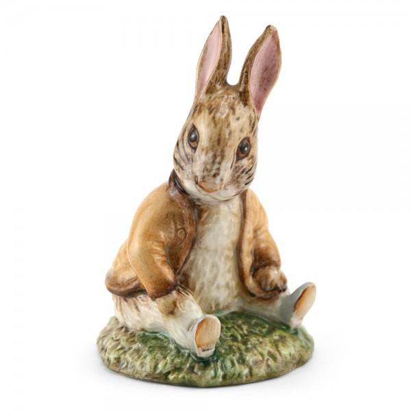 Ben Bunny Sat on a Bank (Head Down) - Beswick - Beatrix Potter Figurine