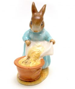 Cecily Parsley (Head Down) - Beswick - Beatrix Potter Figurine