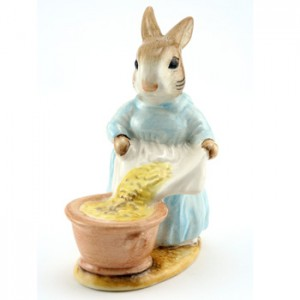 Cecily Parsley (Head Up) - Beswick - Beatrix Potter Figurine