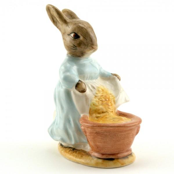 Cecily Parsley Head Up - Royal Albert - Beatrix Potter Figurine