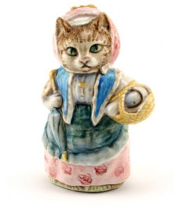 Cousin Ribby - Gold Oval - Beatrix Potter Figurine