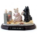 Duchess & Ribby (Tableau) - Beatrix Potter Figurine