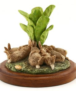 Flopsy Bunnies Sculpted - Beatrix Potter Figurine