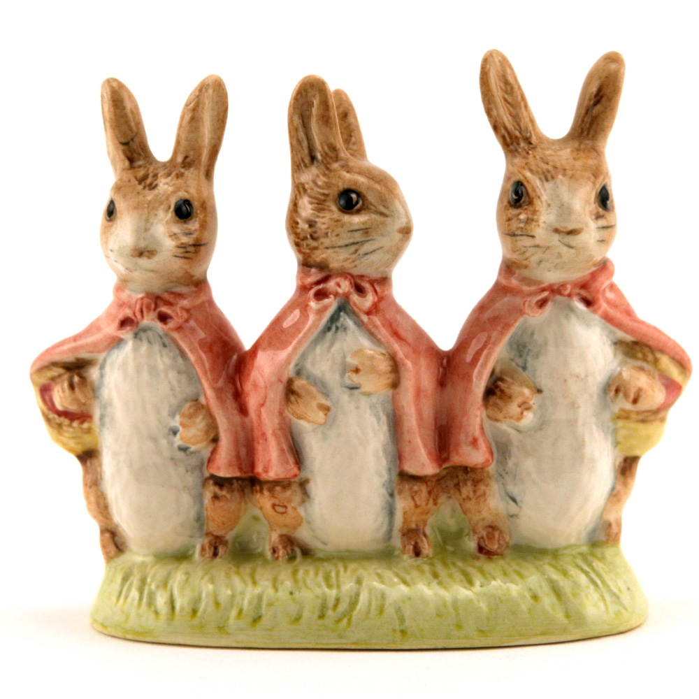 Flopsy - Mopsy & Cottontail - Royal Albert - Beatrix Potter Figurine