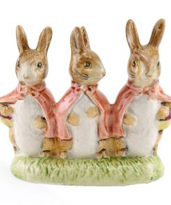 Flopsy Mopsy Cottontail - Royal Albert Gold - Beatrix Potter Figurine