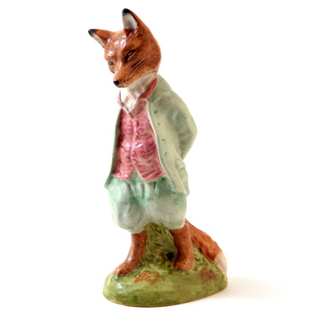 Foxy Whiskered Gentleman (Satin Finish) - New Beswick - Beatrix Potter Figurine