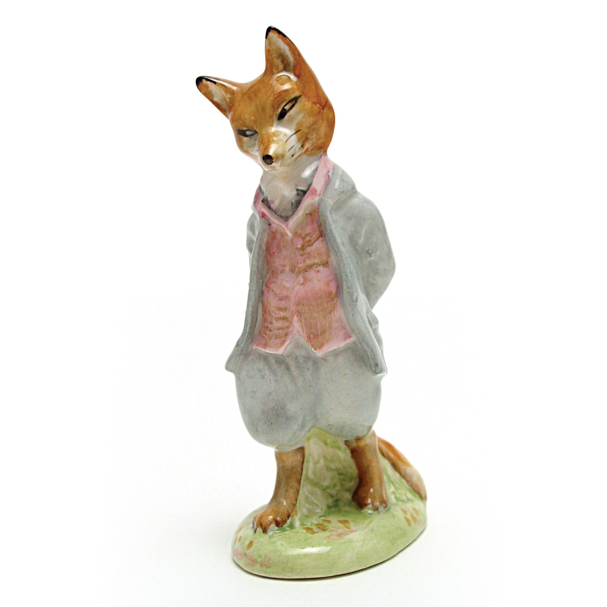Foxy Whiskered Gentleman - Beswick - Beatrix Potter Figurine