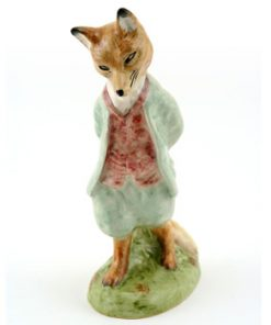 Foxy Whiskered Gentleman - New Beswick - Beatrix Potter Figurine