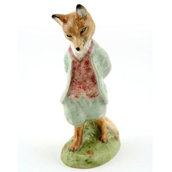 Foxy Whiskered Gentleman - New Beswick - Beatrix Potter Figurine