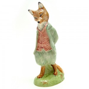 Foxy Whiskered Gentleman - Royal Albert - Beatrix Potter Figurine