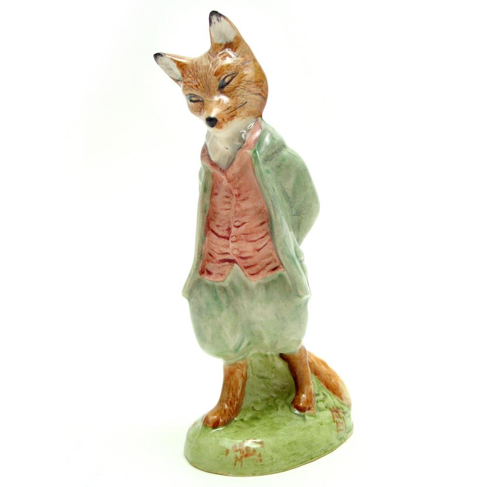 Foxy Whiskered Gentleman - Royal Albert - Beatrix Potter Figurine