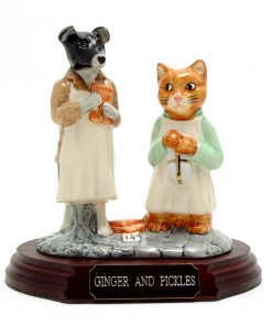 Ginger and Pickles (Tableau) - Beatrix Potter Figurine
