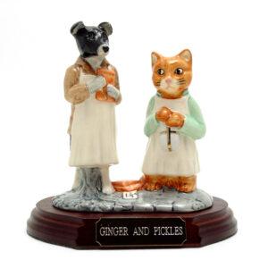 Ginger and Pickles (Tableau) - Beatrix Potter Figurine