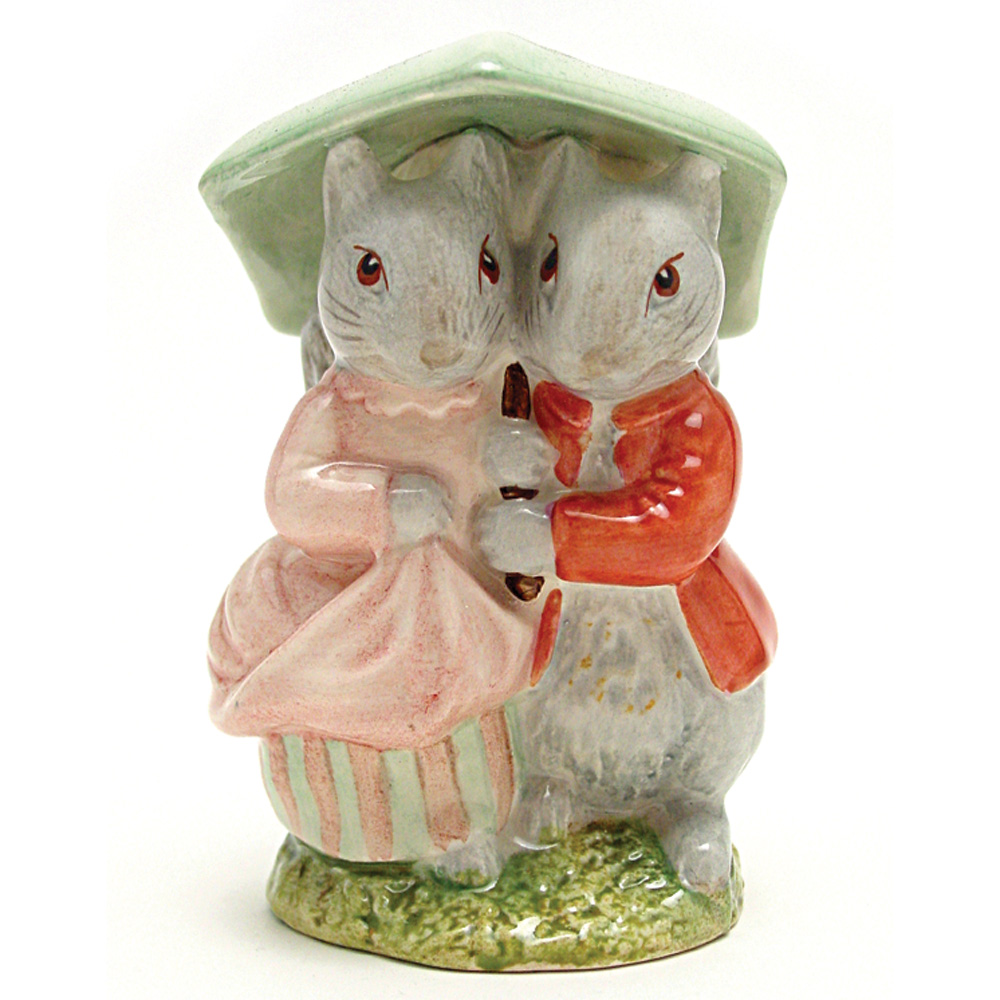 Goody and Timmy Tiptoes - Beswick - Beatrix Potter Figurine