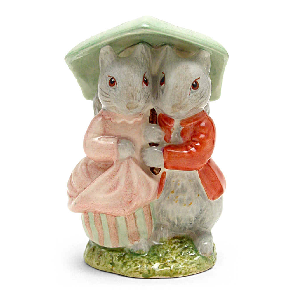 Goody and Timmy Tiptoes - Royal Albert - Beatrix Potter Figurine