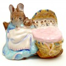 Hunca Munca - Royal Albert - Beatrix Potter Figurine