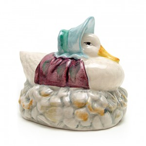 Jemima Puddle-Duck Made a Feather Nest - Beswick - Beatrix Potter Figurine