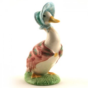 Jemima Puddle-Duck - Royal Albert - Beatrix Potter Figurine