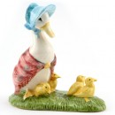 Jemima and Her Ducklings - New Beswick - Beatrix Potter Figurine