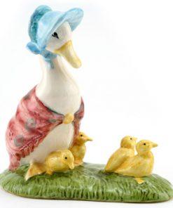 Jemima and Her Ducklings - New Beswick - Beatrix Potter Figurine