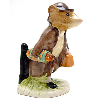 Johnny Town-Mouse (With Bag) - Beswick - Beatrix Potter Figurine